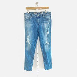 AG Middi Ankle Mid-Rise Legging Jeans
